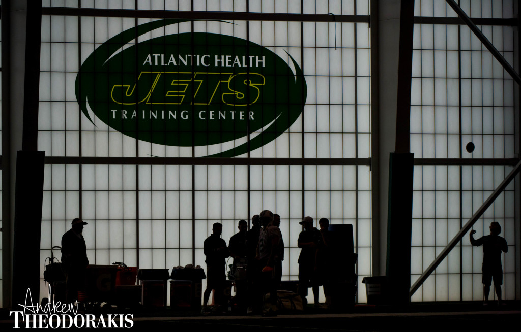 New York Jets at the training facility in Florham Park on Tuesday August 11th, 2015. by Andrew Theodorakis
